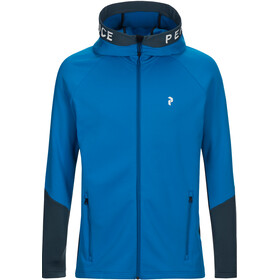 Peak Performance Rider Zip Hood Men Blue Bird